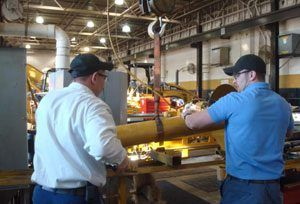 Hydraulic Cylinder Repair | Gregory Poole