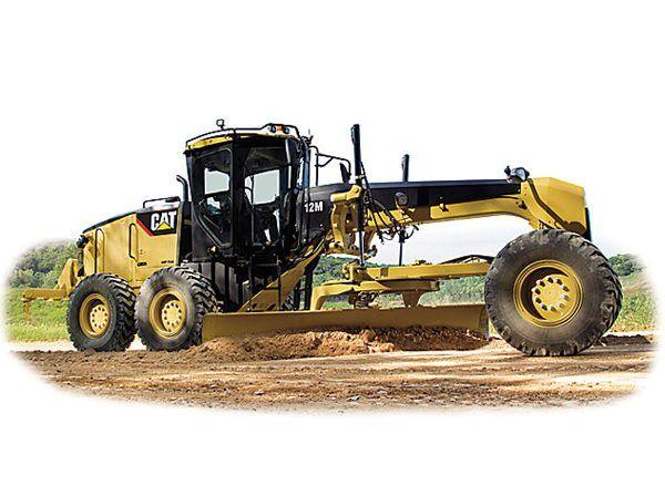 Cat Motor Graders for Rent - North Carolina | Gregory Poole