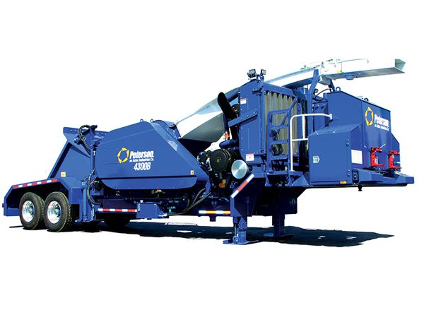 New Peterson 4300b Drum Chipper For Sale Gregory Poole