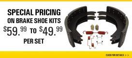Brake Shoe Special