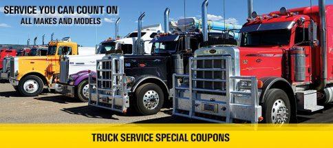 Truck Service Specials