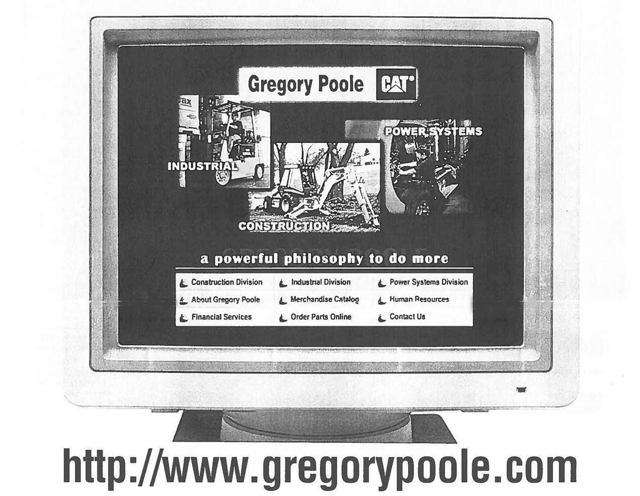 Originalwebsite Gregory Poole