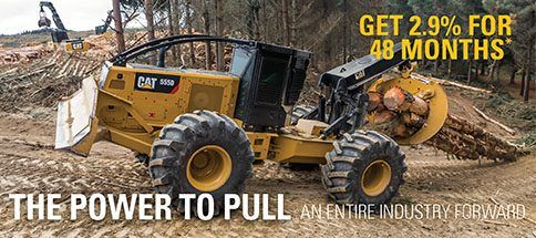 Special Financing for Forestry Equipment