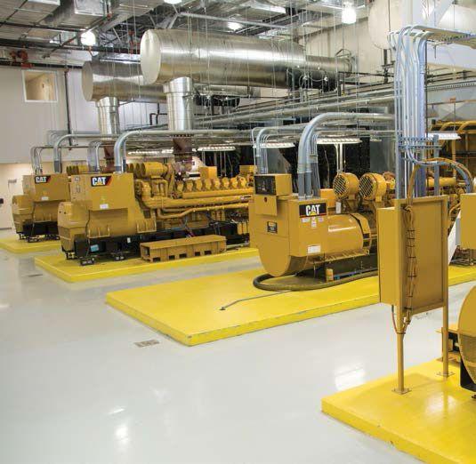 Rex Hospital Generators