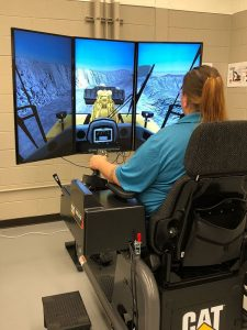 wheel loader simulator