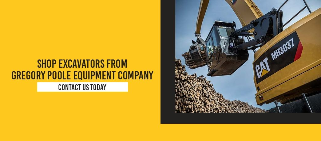 Shop Excavators From Gregory Poole Equipment Company. Contact us today.