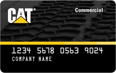 Cat Commercial Card