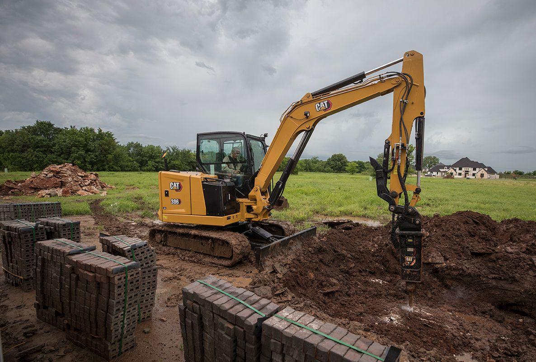 306 mini excavator