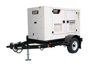 Cat mobile generator