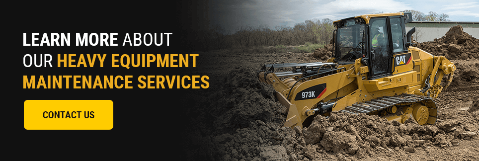 Learn More About Our Heavy Equipment Maintenance Services