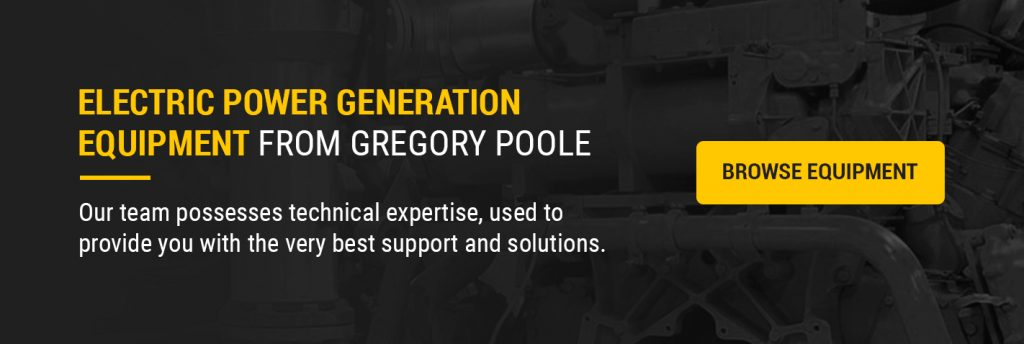 Browse Our Electric Power Generation Equipment