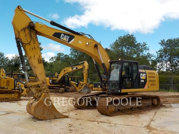 Used 2012 Caterpillar 329el For Sale Gregory Poole