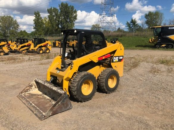 Cat Used Skid Steers Loaders For Sale In NC | Gregory Poole